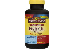 Nature Made Fish Oil - 200 CT