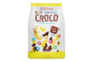 Завтрак готовый со вкусом банана и шоколада Duo Croco Doctor Benner м/у 150г