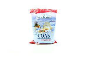 Соль пищевая морская мелкая йодированая Salute di Mare м/у 600г