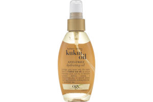 OGX Anti-Frizz Hydrating Oil Kukui Oil