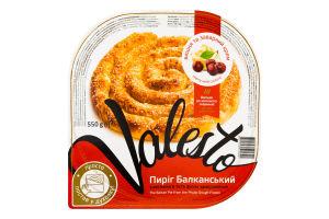 Пиріг з витяжного тіста філло з вишнею та заварним кремом заморожений Балканський Valesto п/у 550г