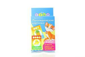 Книга Логопедичні картки кішка Росмен