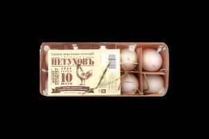 Яйця курячі С1 Господин Петуховъ 10шт