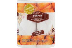 Ahold Paper Towels Pumpkin - 2 CT