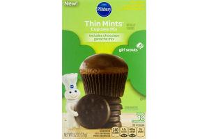 Pillsbury Cupcake Mix Thin Mints