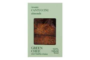 Печиво Cantuccini almonds Green Chef к/у 125г