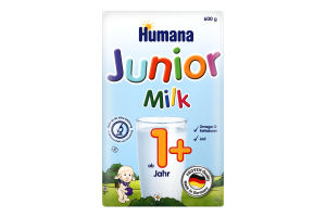 Смесь молочная сухая для детей от 1года Junior Milch Humana к/у 600г