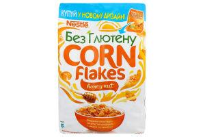 Пластівці кукурудзяні з медом та арахісом Gold Nestle м/у 250г