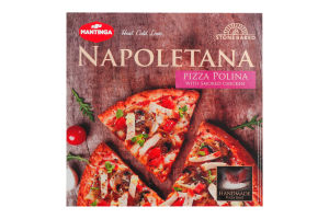 Пицца Polina Napoletana Mantinga к/у 340г