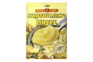 Пюре швидкого приготування картопляне з ароматом вершків Велика ложка м/у 30г