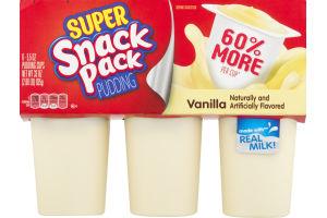 Super Snack Pack Pudding Vanilla - 6 PK