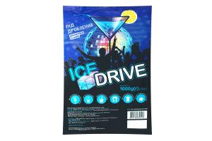 Лед пищевой дробленый Ice Drive м/у 1000г