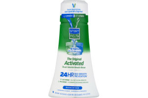 Smart Mouth The Original Activated Dual-Solution Breath Rinse Fresh Mint