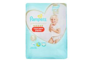 Подгузники трусики pants 12-17кг Premium Care Pampers 20шт