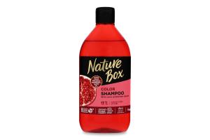 Шампунь для волосся Pomegranate oil Color Nature Box 385мл