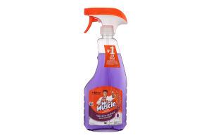 Засіб миючий для скла та поверхонь Лаванда Mr.Muscle 500мл