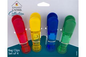 Smart Living Bag Clips - 4 CT
