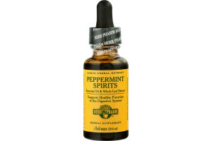 Herb Pharm Peppermint Spirits Liquid Herbal Extract