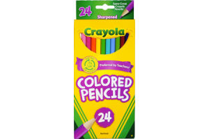 Crayola Colored Pencils - 24 CT