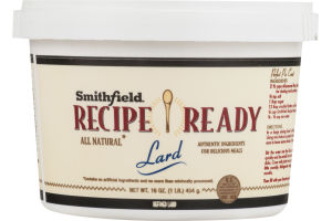 Smithfield Recipe Ready Lard