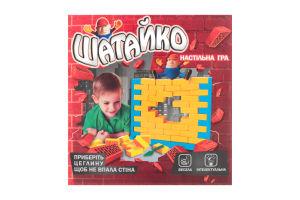 Игра настольная для детей от 3-х лет №30305 Шатайко Strateg 1шт