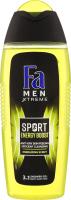 Гель для душу Sport Energy Boost Xtreme Men Fa 400мл