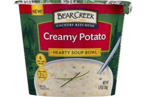Bear Creek Country Kitchens Hearty Soup Bowl Creamy Potato