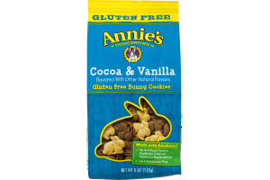 Annie's Homegrown Cocoa & Vanilla Gluten Free Bunny Cookies