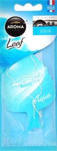 Ароматизатор повітря для автомобіля Aqua Leaf Aroma Car 1шт