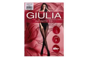 Колготки жіночі Giulia Infinity 20den 3-M cappuccino