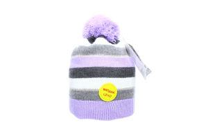 ESLI шапка дитяча 15С-78СП р.50 бузковий