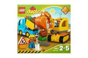 LEGO® DUPLO® Грузовик и гусеничный экскаватор 10812