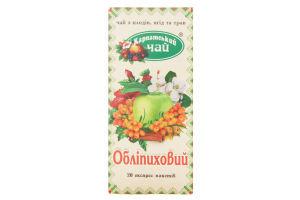 Чай из плодов, ягод и трав Облепиховый Карпатський чай к/у 20х2г