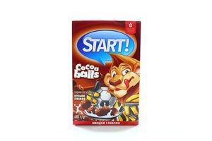 Завтраки сухие Шарики с какао Start! к/у 75г