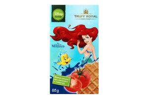 Вафли соленые без начинки с томатом The Little Mermaid Truff Royal к/у 85г