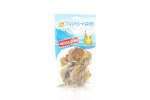 Желтый полосатик солено-сушеный кусочки с/ш Гуляй Море м/у 100г
