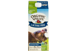 Organic Valley Lactose Free Fat Free Milk