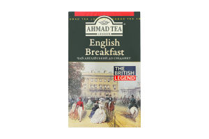 Чай чорний листовий English Breakfast Ahmad Tea к/у 100г