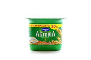Бифидойогурт Отруби-злаки 3% Активиа 140г