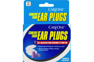 CareOne Comfort Foam Ear Plugs - 10 CT