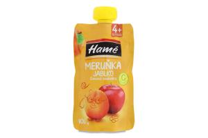 Пюре для дітей від 4міс на фруктовій основі Абрикос-яблуко Hamanek д/п 100г
