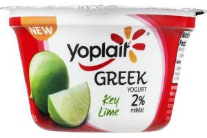 Yoplait Greek Yogurt 2% Milkfat Key Lime