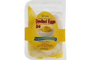 Almark Foods Deviled Eggs Original Mustard Flavor - 24 CT