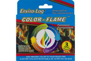 Enviro-Log Color-Flame - 3 PK