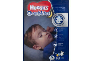Huggies OverNites Disney Baby Stage 6 Diapers (Over 35 lb) - 18 CT