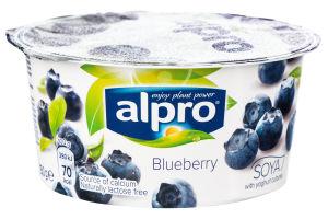 Продукт соєвий ферментований з чорницею Alpro ст 150г