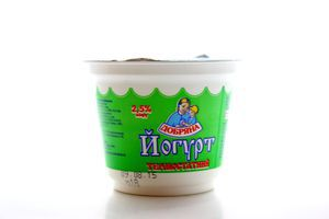 Йогурт Добряна термостатний стакан 2,5% 230г