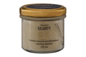 Мороженое Соленая сицилийская фисташка из региона Бронте Gelarty с/б 125мл