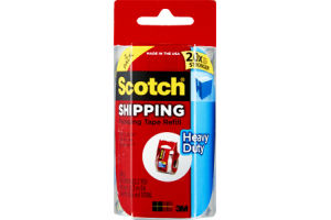 Scotch Shipping Packaging Tape Refill - 2 CT