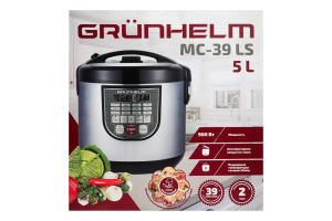 Мультиварка 5л MC-39LS Grunhelm 1шт